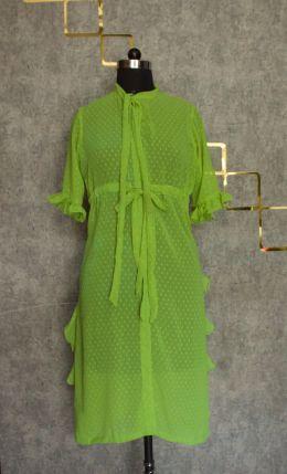 Fusia green sigle piece